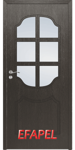 Интериорна врата Efapel 4509 Черна мура