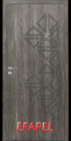 Интериорна врата Efapel 4558P Сив ясен