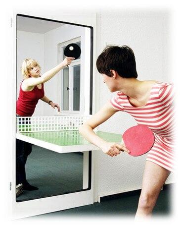 Интериорна врата - тенис за маса