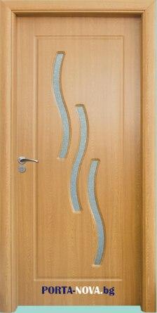 Интериорна врата, серия Стандарт, модел 014 A от Порта Нова Бургас